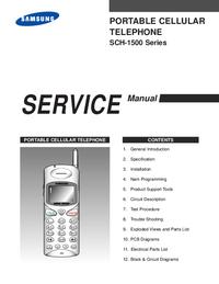 Serviceanleitung Samsung SCH-1500