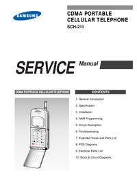 Service Manual Samsung SCH-211