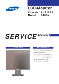 Service Manual Samsung 940Fn