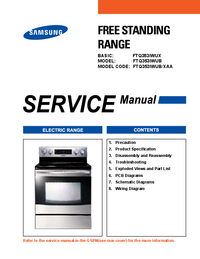 Service Manual Samsung FTQ353IWUB