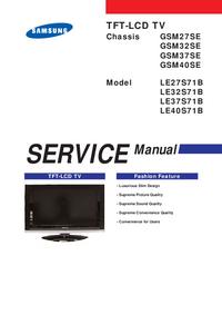 Serviceanleitung Samsung GSM37SE