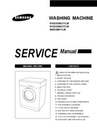 Servicehandboek Samsung R1233GWC/YLW