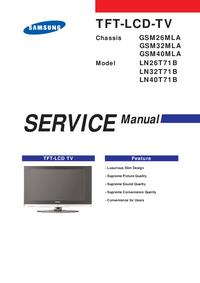 Manuale di servizio Samsung GSM26MLA