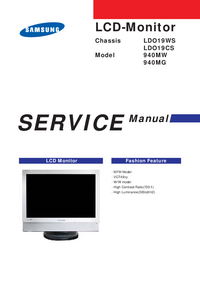 Service Manual Samsung 940MG