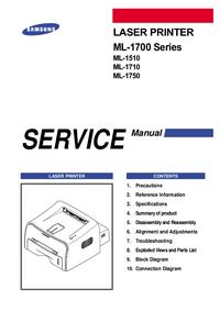 Manual de servicio Samsung ML-1510