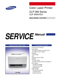 Manual de servicio Samsung CLP-300 Series