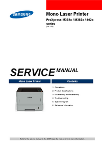 Service Manual Samsung ProXpress M382x Series
