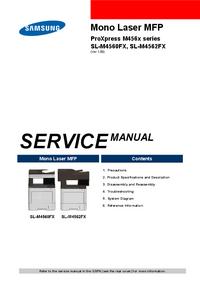 Manuale di servizio Samsung SL-M4560FX
