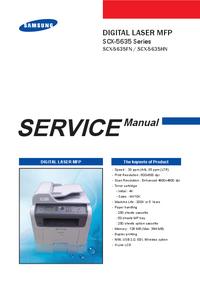 manuel de réparation Samsung SCX-5635HN