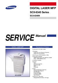 Service Manual Samsung SCX-6345 Series