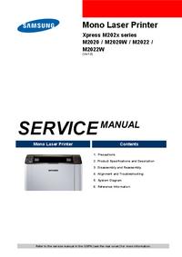 Service Manual Samsung Xpress M202x series
