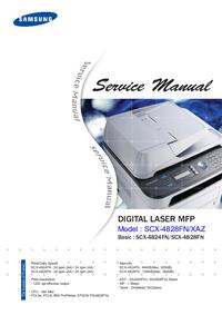 manuel de réparation Samsung SCX-4828XAZ