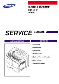 manuel de réparation Samsung SCX-5312F
