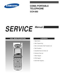 Servicehandboek Samsung SCH-880