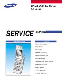 Instrukcja serwisowa Samsung SCH-A101