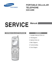 Instrukcja serwisowa Samsung SCH-A399