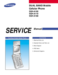 Instrukcja serwisowa Samsung SGH-A188