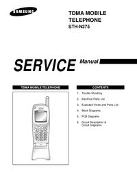 manuel de réparation Samsung STH-N375