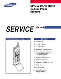 Manual de servicio Samsung STH-N271