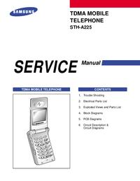 Serviceanleitung Samsung STH-A225
