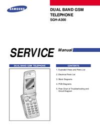 Manuale di servizio Samsung SGH-A300