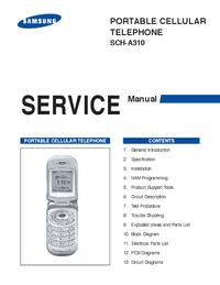 Serviceanleitung Samsung SCH-A310
