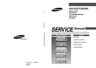 Service Manual Samsung SVR-2401