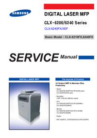 Manual de servicio Samsung CLX-6200ND