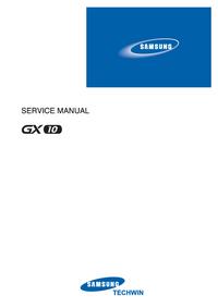 Manuale di servizio Samsung GX10