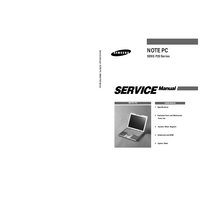 Manual de servicio Samsung SENS P20 Series