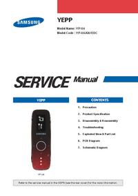 Service Manual Samsung YEPP YP-U4