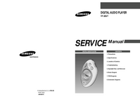 Serviceanleitung Samsung YP-20S