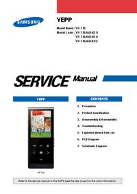 Serviceanleitung Samsung YEPP YP-T10