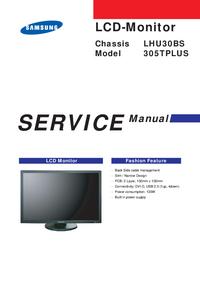 Manual de serviço Samsung 305TPLUS