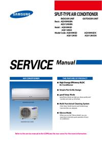 Manuale di servizio Samsung AQV12NSDX