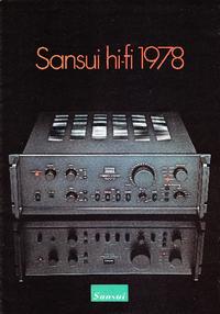 Catalog Sansui xxxxx