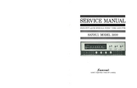Servicio y Manual del usuario Sansui 3000