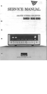 Servicehandboek Sansui 8080