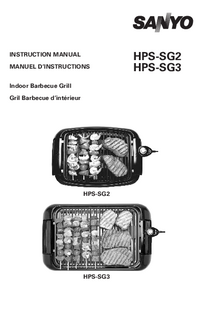 User Manual Sanyo HPS-SG3