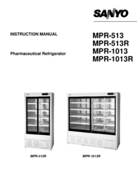 User Manual Sanyo MPR-513R