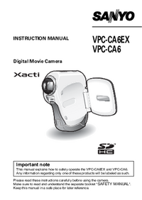 Sanyo-11505-Manual-Page-1-Picture