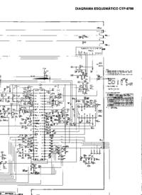 Instrukcja serwisowa Sanyo CTP-6796