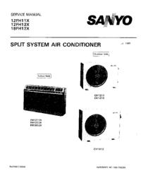 Service Manual Sanyo 18FH12X