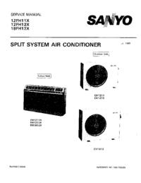 Manual de serviço Sanyo 18FH12X