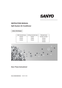 User Manual Sanyo TS3632