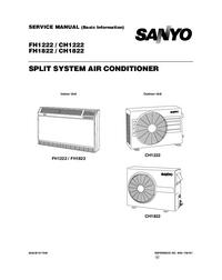 Manuale di servizio Sanyo CH1222