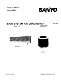 Manual de serviço Sanyo 24KH12W