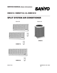 Manual de servicio Sanyo KMS0712