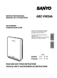 Manual do Usuário Sanyo ABC-VW24A