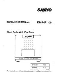 User Manual Sanyo DMP-P1